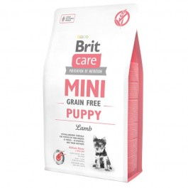 Brit Care Mini Grain Free Puppy Agnello