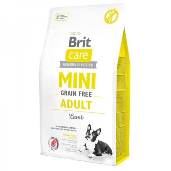 Brit Care Mini Grain Free Adult Agnello