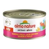 Almo Nature HFC Jelly al Salmone e Pollo per Gatto 70gr