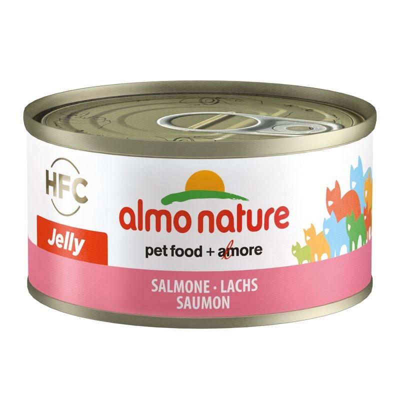 Almo Nature HFC Jelly al Salmone per Gatti 70gr