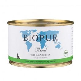 Biopur Manzo, Riso e Carote Senza Glutine