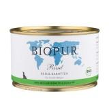Biopur Puppy Manzo, Riso e Carote Umido per Cuccioli 400 g