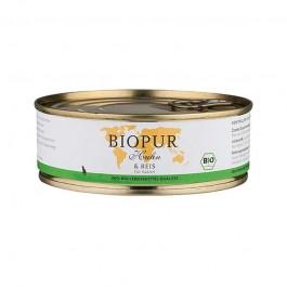 Biopur Adult Pollo e Riso Umido per Gatti 200 g