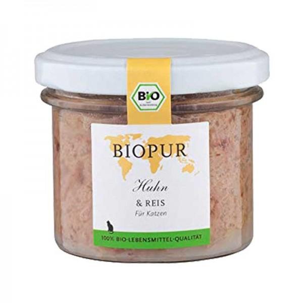 Biopur Adult Pollo e Riso Umido per Gatti 100 g