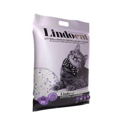 Lindocat Lettiera Gel di Silice Crystal Lavender