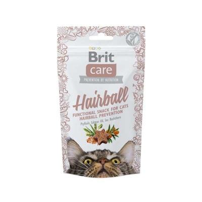 Brit Care Snack Grain Free Hairball per Gatti