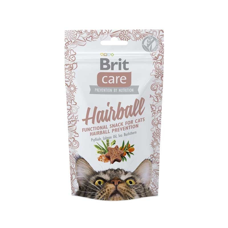Brit Care Snack Grain Free Hairball per Gatti