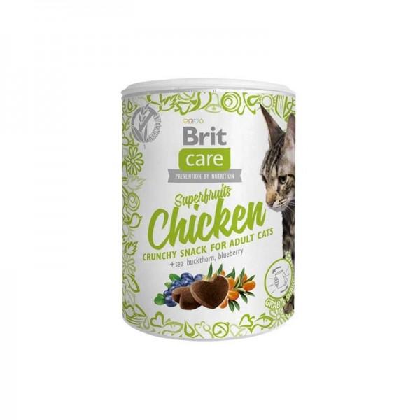 Brit Care Snack Superfruits Chicken per Gatti