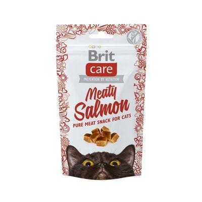 Brit Care Snack Grain Free Meaty Salmon per Gatti