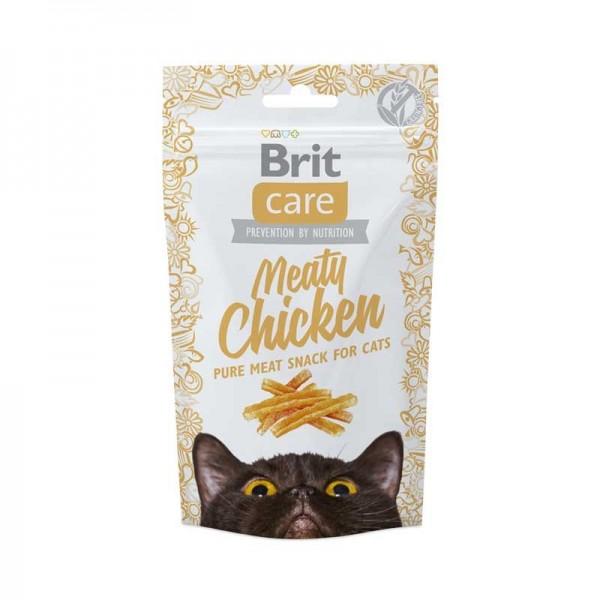 Brit Care Snack Grain Free Meaty Chicken per Gatti