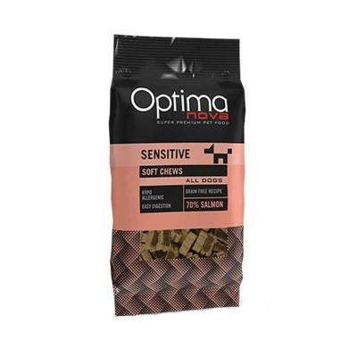Optimanova Snack Sensitive con Salmone per Cani