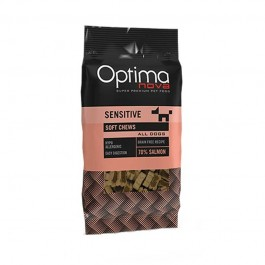 Optimanova Snack Sensitive con Salmone per Cani