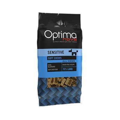 Optimanova Snack Sensitive con Agnello per Cani