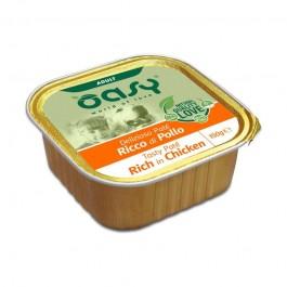 Oasy Adult Tasty Paté al Pollo Umido per Cani