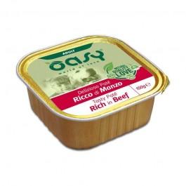 Oasy Adult Tasty Paté al Manzo Umido per Cani