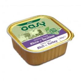 Oasy Adult Tasty Paté al Tacchino Umido per Cani