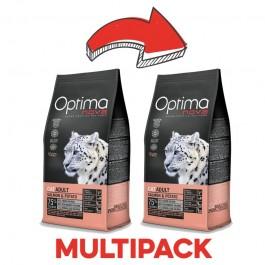 Optimanova Gatto Grain Free Salmone
