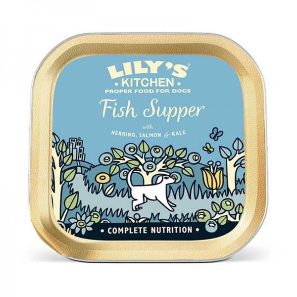 Lily's Kitchen Sensitive al Pesce Umido per Cani 150g