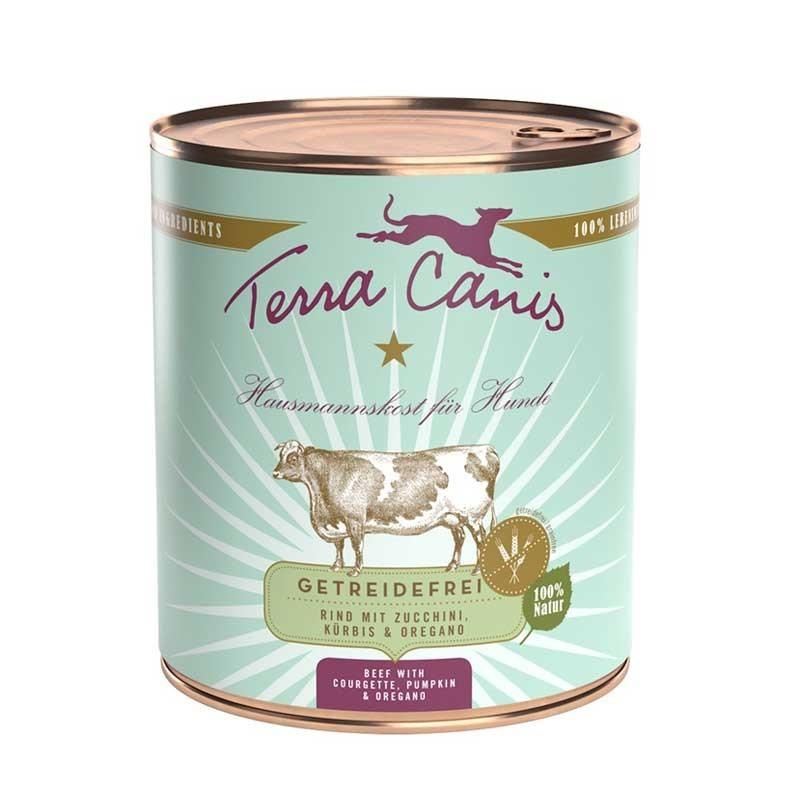 Terra Canis Manzo con Zucchine, Zucca e Origano Grain Free