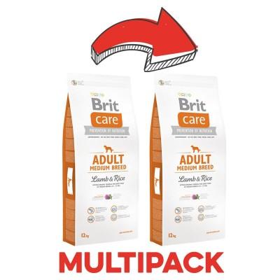 Brit Care Adult Medium Breed Agnello e Riso