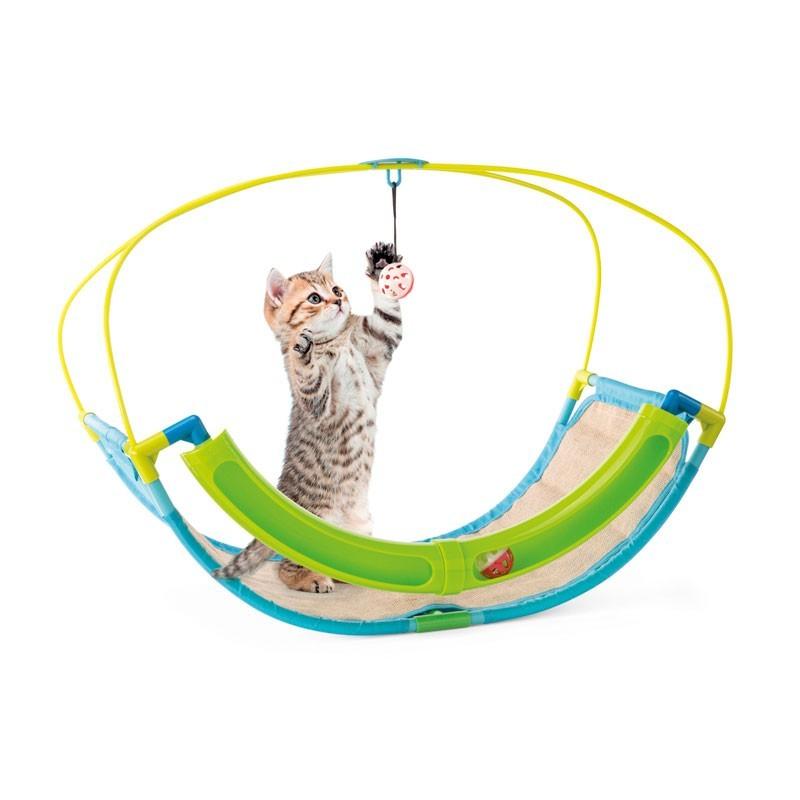 Imac Tiragraffi Playtime Cat Rocking Station