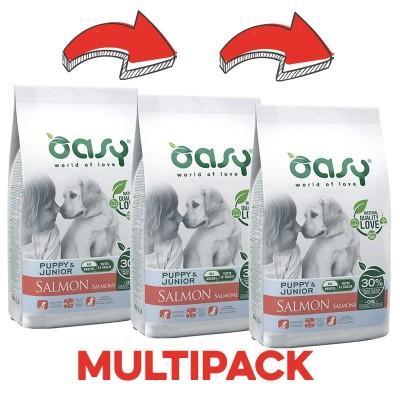 Oasy One Protein Puppy al Salmone