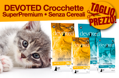 Crocchette Devoted per Gatto
