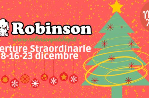 Dicembre, mese di aperture straordinarie da Robinson! thumb