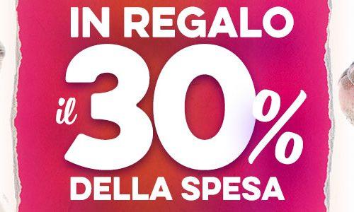 A Febbraio Robinson regala il 30% della spesa ai clienti di Villa Verucchio thumb