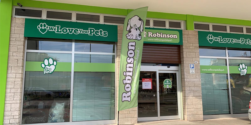 Robinson Pet Shop apre il suo undicesimo punto vendita a Ravenna cover