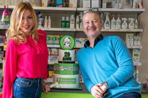 I vent'anni di Robinson Pet Shop, molto più di un negozio di animali thumb