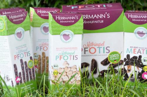 Herrmann's Manufaktur: snack per cani bio e naturali thumb