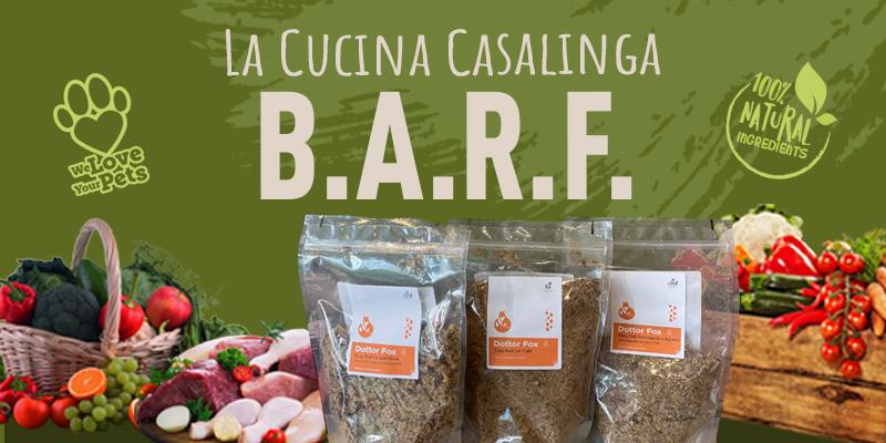 La Dieta Barf Made In Italy di Dottor Fox cover