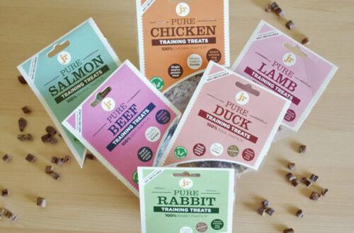 JR Pet Products: snack per cani 100% naturali thumb
